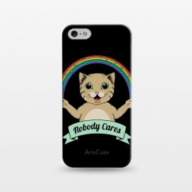 iPhone 5/5E/5s  Nobody Cares by Coffee Man