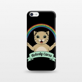 iPhone 5C  Nobody Cares by Coffee Man