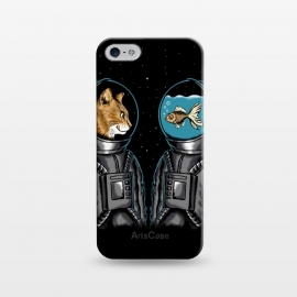 iPhone 5/5E/5s  Astronaut cat and fish by Coffee Man