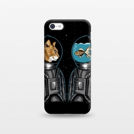 iPhone 5C  Astronaut cat and fish by Coffee Man