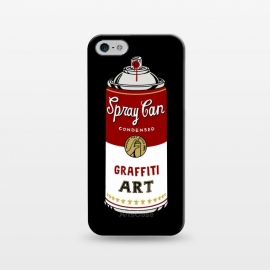 iPhone 5/5E/5s  Graffiti Can by Coffee Man (graffiti,urban,art,spray can,pop,art pop,andy warhol,can,fun,funny,humor,street art)