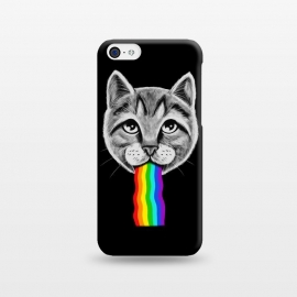 iPhone 5C  Cat rainbow by Coffee Man