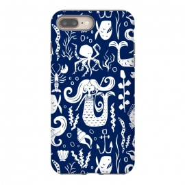 iPhone 8/7 plus  Under The Sea - Navy by Heather Dutton