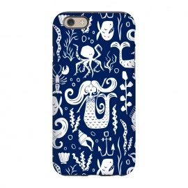 iPhone 6/6s  Under The Sea - Navy by Heather Dutton