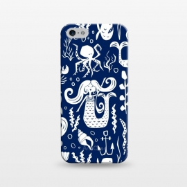 iPhone 5/5E/5s  Under The Sea - Navy by Heather Dutton