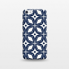 iPhone 5C  Starburst - Navy by Heather Dutton