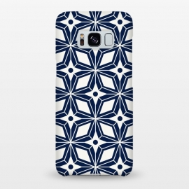 Galaxy S8+  Starburst - Navy by Heather Dutton