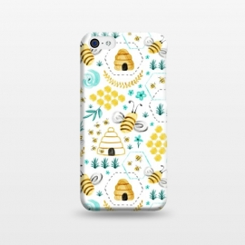 iPhone 5C  Busy Bees by Heather Dutton