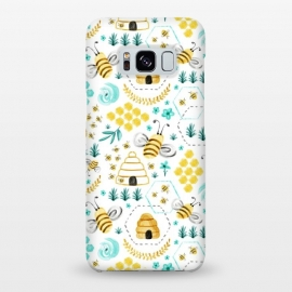 Galaxy S8+  Busy Bees by Heather Dutton
