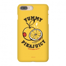 iPhone 8/7 plus  [ba dum tees] Pikajuicy by  (pikachu,anime,pokemon,orange,juice,fruit,animal)