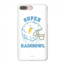 [ba dum tees] Super Rainbowl by Draco (football,helmet,cloud,rain,thunder,rainbow,sky)