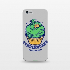 iPhone 5/5E/5s  [ba dum tees] Cthulhucake by Draco