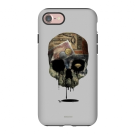 iPhone 8/7  [Poektica] Society by Draco (skull, money,oil,coins)