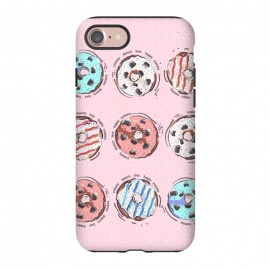 iPhone 8/7  Donut Love 3 by MUKTA LATA BARUA (donuts, donut,food,foodie,kitchen,art)