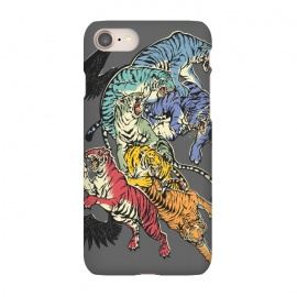 iPhone 7  Seven Caged Tigers by Draco