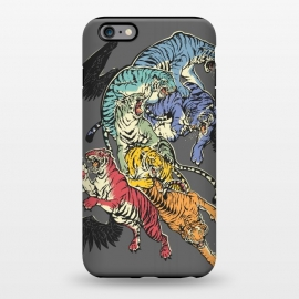 iPhone 6/6s plus  Seven Caged Tigers by Draco