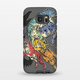 Galaxy S7  Seven Caged Tigers by Draco