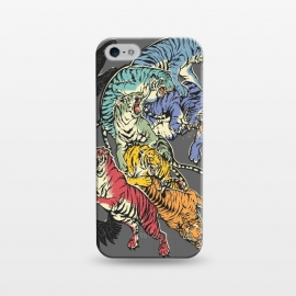 iPhone 5/5E/5s  Seven Caged Tigers by Draco