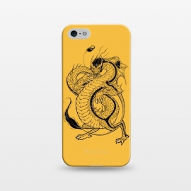iPhone 5/5E/5s  Black Dog by Draco