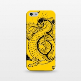 iPhone 5/5E/5s  Bruce, the Dragon by Draco
