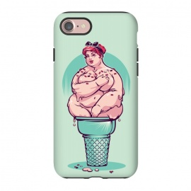 iPhone 8/7  Dalicious by Draco (ice,cream,icecream,woman,fat,beautiful)