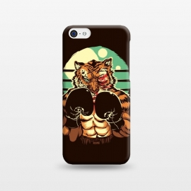 iPhone 5C  Eye of the Tiger by Draco