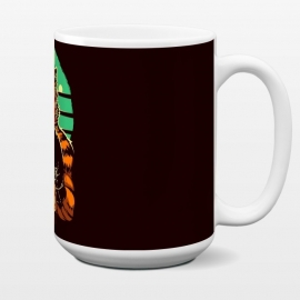 15 oz Standard Mug Eye of the Tiger by Draco (tiger,boxe,fight,mma,rocky,balboa)
