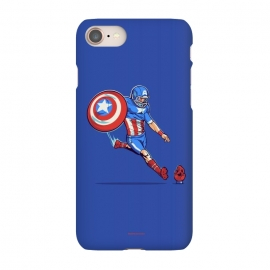iPhone 7 SlimFit Kick-Off by Draco (hero,captain,america,red,skull,shield,marvel)