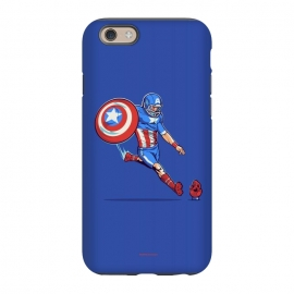 iPhone 6/6s StrongFit Kick-Off by Draco (hero,captain,america,red,skull,shield,marvel)