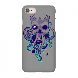 iPhone 7 SlimFit Lovecraft by Draco (lovecraft,horror,terror,flowers,skull,octopus,tentacle,cthulhu)