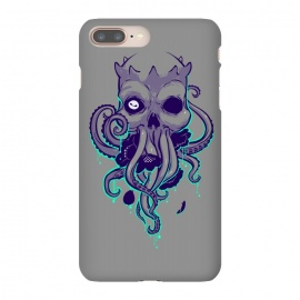 Lovecraft by Draco (lovecraft,horror,terror,flowers,skull,octopus,tentacle,cthulhu)