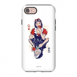 iPhone 8/7  Queens by Draco (card, heats,apple,snow,white,queen,witch)