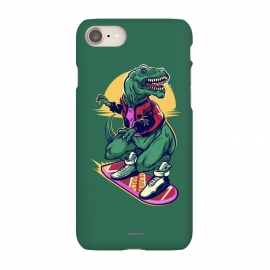 iPhone 7 SlimFit Rex to the Future by Draco (dino,rex,tyrannosaur,dinosaur,tyran,marty,mcfly,hover,hoverboard,board,skate,back,future)