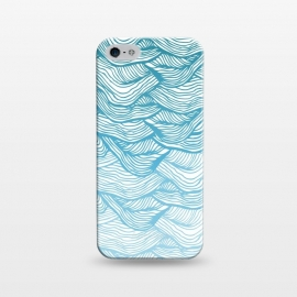 iPhone 5/5E/5s  Waves  by Rose Halsey