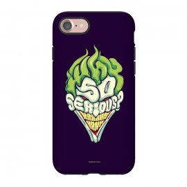 iPhone 7 StrongFit Why so Serious by Draco (joker, batman,typography)