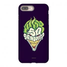Why so Serious by Draco (joker, batman,typography)