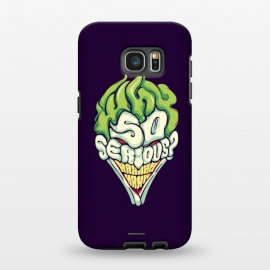 Galaxy S7 EDGE  Why so Serious by Draco