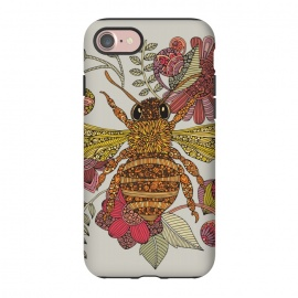 iPhone 8/7  Be awesome by Valentina Harper (Bugs,colors,flowers)