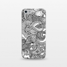 iPhone 5/5E/5s  Doodles by Valentina Harper