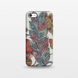 iPhone 5C  Feather by Valentina Harper