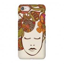 iPhone 7 SlimFit It's all in your head by Valentina Harper (People,colors,flowers)