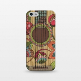 iPhone 5/5E/5s  The guitar by Valentina Harper