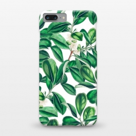 Botanica by Uma Prabhakar Gokhale (graphic, acrylic, botanical, nature, tropical, exotic, green, lush, leaves, floral)