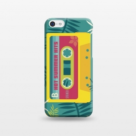 iPhone 5C  Hot Summer Retro Tape by Dellán