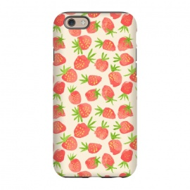 iPhone 6/6s  Strawberry by Sarah Price Designs