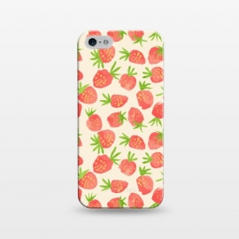 iPhone 5/5E/5s  Strawberry by Sarah Price Designs