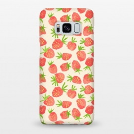 Galaxy S8+  Strawberry by Sarah Price Designs