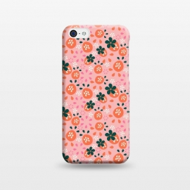 iPhone 5C  Fresh Strawberries by Sarah Price Designs