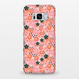 Galaxy S8+  Fresh Strawberries by Sarah Price Designs