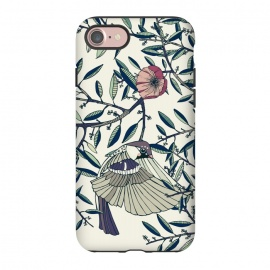 iPhone 7 StrongFit Among the Olive Trees by Stefania Pochesci (Poppies,bird,Branches,nature,vintage,floral,unique,elegant,classy,fashion,phonecase,decor,design,gift,caseiphone,samsungcase,customcase,art,accessories,techaccessories,style,Vintage,Animals)